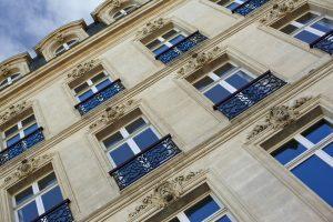 Immeuble, immobilier, maison, façade, architecture